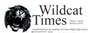 Wildcat Times Volume 1 Issue 6