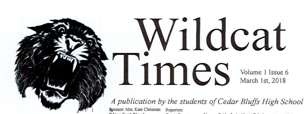 Wildcat Times Volume 1 Issue 7