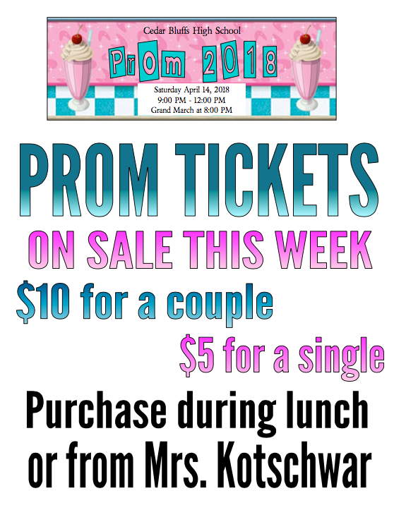 PROM TICKETS!!!