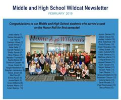 MS HS Newsletter (FEB)