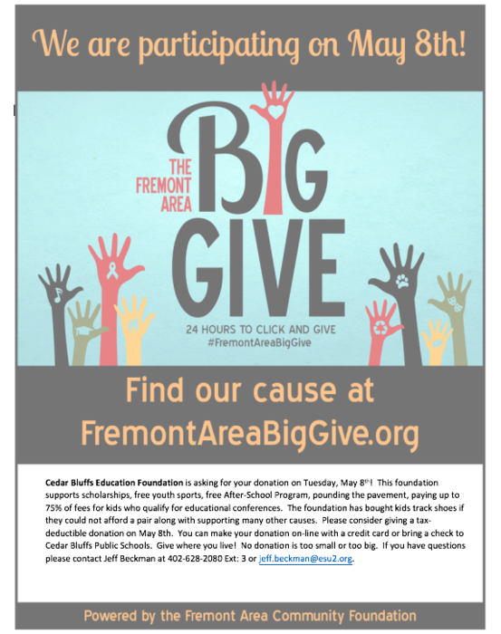 Fremont Area Big Give