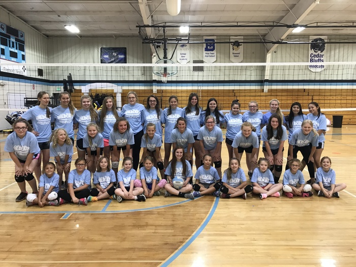 Junior Wildcat Volleyball