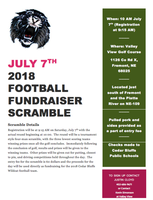 CB Football Fundraiser