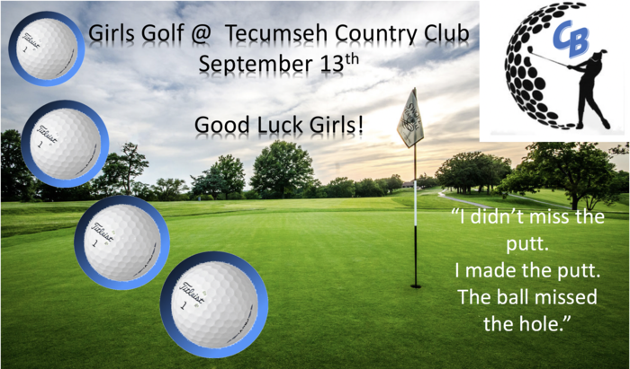 Girls Golf @ Tecumseh