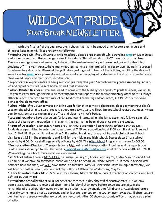 mid year newsletter