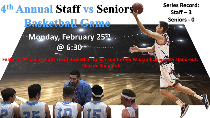 Staff vs Seniors Game