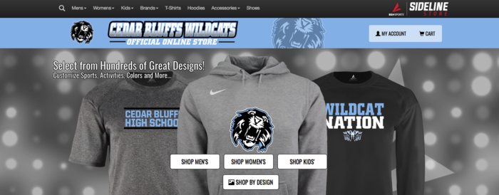 Online Apparel Store