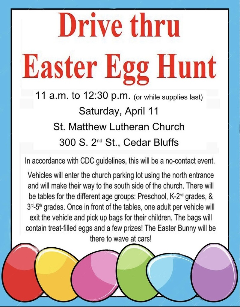 church easter egg hunt