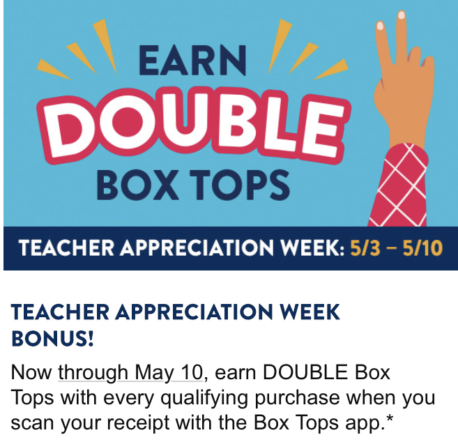 Double box tops week picture