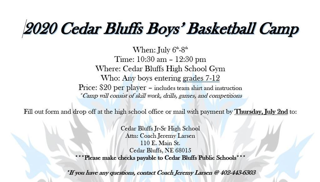 boys basketball flyer