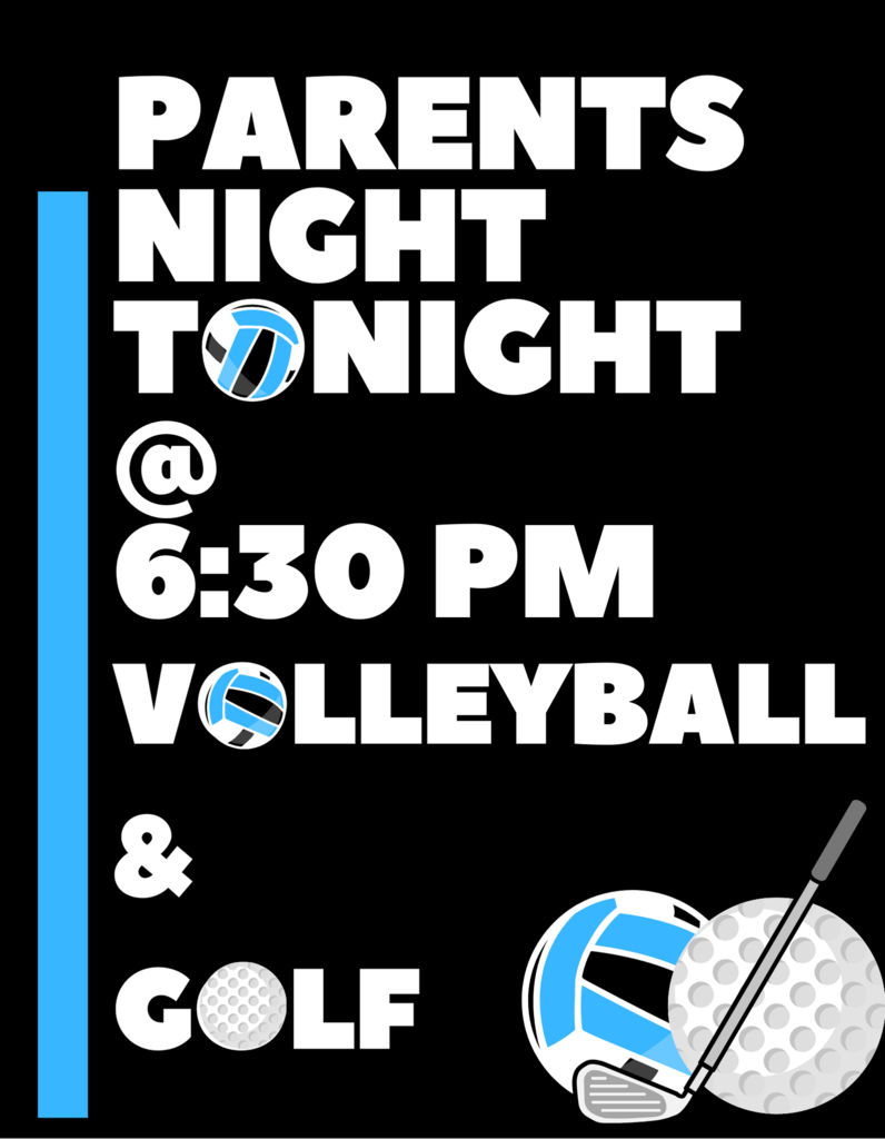 Parents night flyer